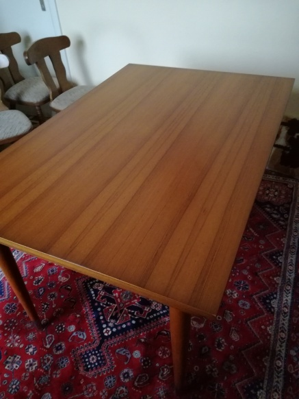 TEAK EETKAMER | TAFEL | BARKAST | DRESSOIR | MINT CONDITION | €299 ...